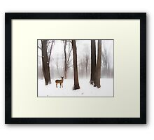 As Winter Calls Framed Print
