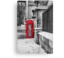Oxford Telephone  Canvas Print