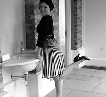 woman posing  at sink  by adam63745