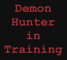 Demon Hunter in Training Kids Tee