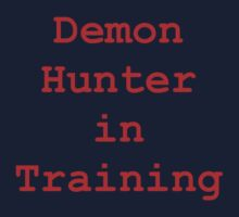 Demon Hunter in Training One Piece - Short Sleeve