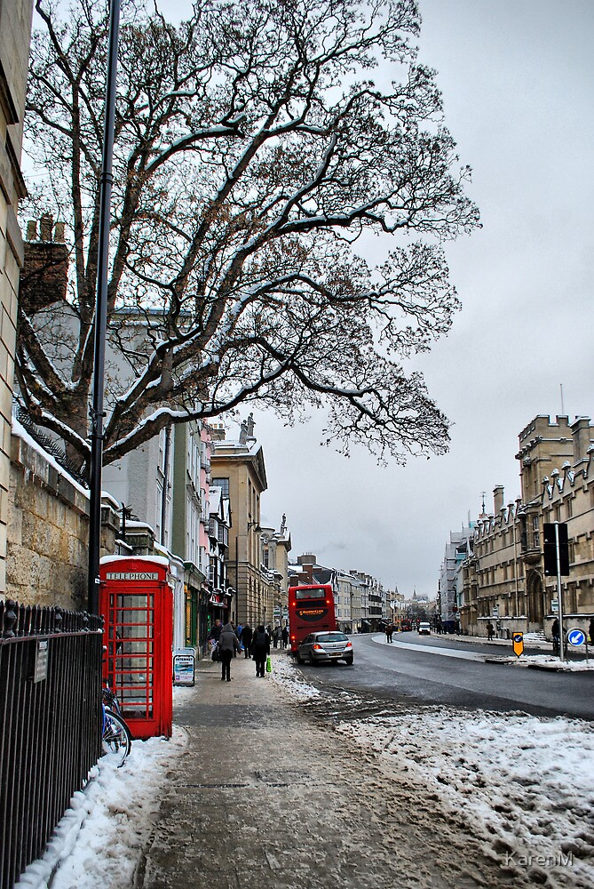 High Street, Oxford by Karen Martin