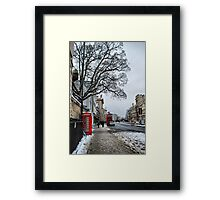 High Street, Oxford Framed Print