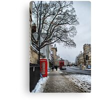 High Street, Oxford Canvas Print