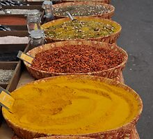 Arles Market - Spices 1 by kweirich