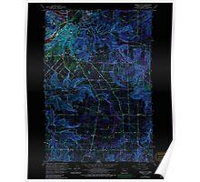 USGS Topo Map Oregon Oregon City 281004 1961 24000 Inverted Poster