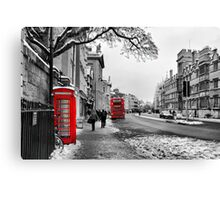 Oxford High Canvas Print