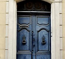 Blue Door, Arles by kweirich