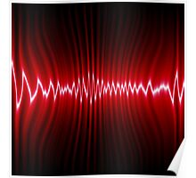 abstract wave energy Poster