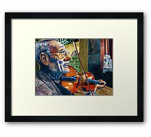 The Turkish Violinist  Framed Print