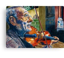 The Turkish Violinist  Canvas Print