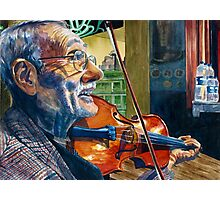 The Turkish Violinist  Photographic Print
