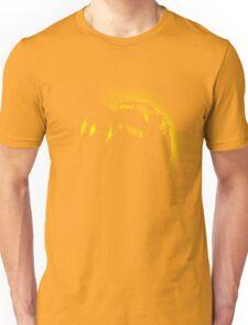I Shoot with my nikon (Halftone style) Unisex T-Shirt