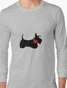 Scottie Dog Long Sleeve T-Shirt