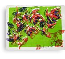 Summer Roses 5 Canvas Print