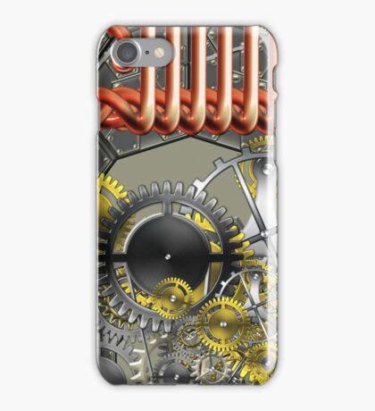 retro mechanism iPhone Case/Skin