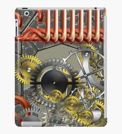 retro mechanism iPad Case/Skin