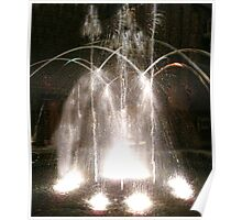 Indoor Fountain Poster