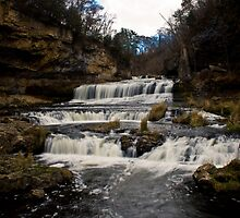 Willow River Falls II - WI by Daniel Rens