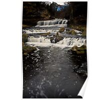 Willow River Falls III - WI Poster