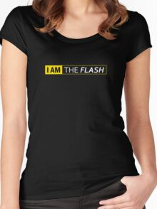 I AM THE FLASH Women's Fitted Scoop T-Shirt