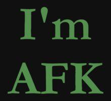 I'm AFK by silverdragon
