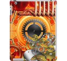 abstract steampunk machine  iPad Case/Skin