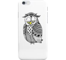 Sleepy Owl 6 iPhone Case/Skin