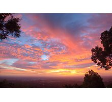 Sunset Spectacular Photographic Print