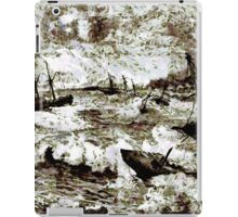 Hurricane at Samoa on the morning of March 16 1899 iPad Case/Skin