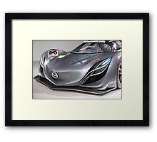 The Mazda Furai Framed Print