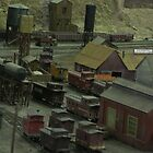 Really cool model train yard oh I so love trains wee by kevin seraphin