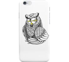 Sleepy Owl 7 iPhone Case/Skin
