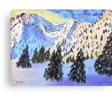 """""""Winter Wonderland"""" Canvas Print"""