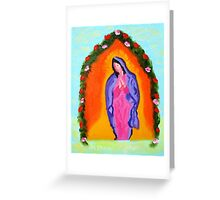 """Lady Madona"" Greeting Card"