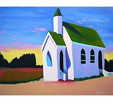 """Vinyards Chapel"" Photographic Print"