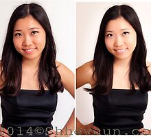 PORTRAIT 2 Before/After Airbrushing by Shevaun  Shh!