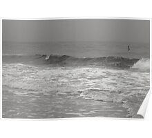 Fog - Lido Beach, 2011 Poster