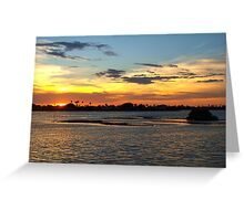Melody of light Greeting Card