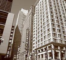 Chicago Downtown by Frank Romeo