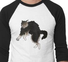 Frankenstein Kitty Men's Baseball ¾ T-Shirt