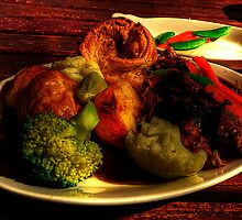 Pub Lunch by Rob Hawkins