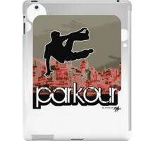 parkour*_red6 iPad Case/Skin