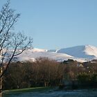 Snowdonia National Park covered in Snow, Wales, UK by Michaela1991