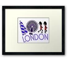 London Tour Framed Print
