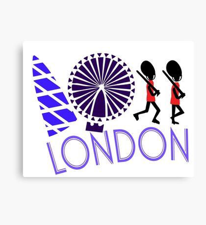 London Tour Canvas Print