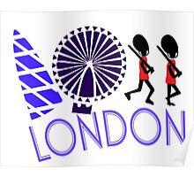 London Tour Poster
