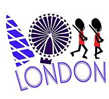 London Tour Photographic Print