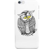 Sleepy Owl 10 iPhone Case/Skin