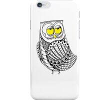 Sleepy Owl 11 iPhone Case/Skin